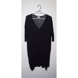 H.I.P. - Small - Women's Buttoned Cardigan - Black